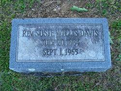 Rev Susie <i>Willis</i> Davis