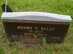 Henry G Balas