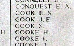 Rifleman James Emanuel Cook