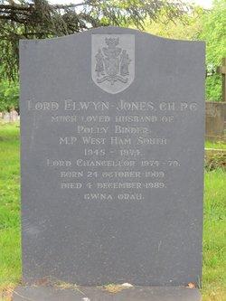 Elwyn Lord Elwyn-Jones Jones