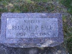 Beulah P Ball