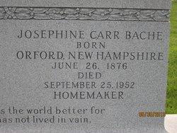 Josephine <i>Carr</i> Bache