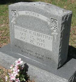 Malinda Mae <i>Harris</i> Albritton