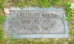 Sallie <i>Dellinger</i> Baker