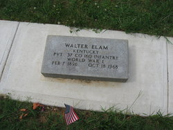 Henry Walter Elam