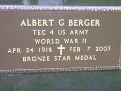 Albert George Berger