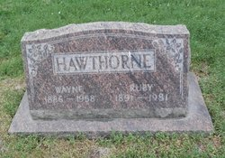 Ruby <i>Smith</i> Hawthorne