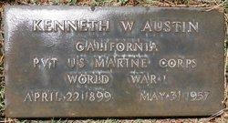 Pvt Kenneth W Austin