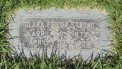 Clara Frieda <i>Birkenhauer</i> Strong