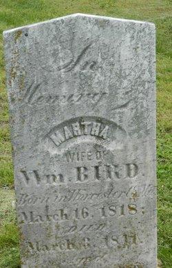 Martha <i>Rutter</i> Bird
