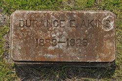 Durance E Akins