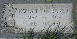 Dwight Otis Baker