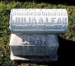 Julia Ann <i>Waters</i> Leak