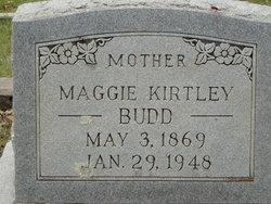 Mary (Maggie) <i>Kirtley</i> Budd