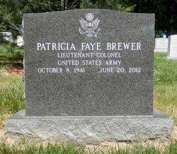 LTC Patricia Faye Brewer
