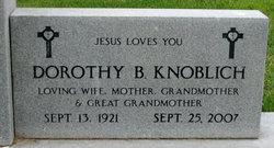 Dorothy Bertha <i>Sawkins</i> Knoblich