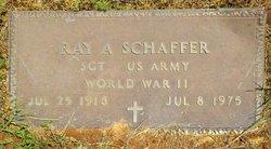 Raymond A. Ray Schaffer