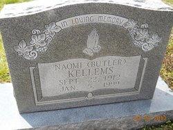 Naomi A <i>Butler</i> Kellems