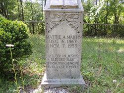 Martha A. Mattie <i>Poor</i> Martin