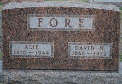Alice Alie <i>Brown</i> Fore