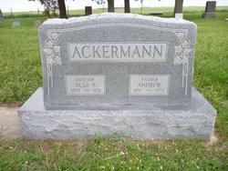 Elsa Katherine <i>Huber</i> Ackermann