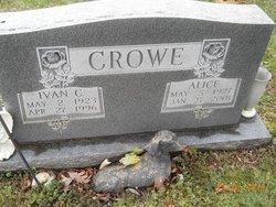 Alice <i>Wilson</i> Crowe