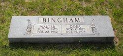 Dora Bell <i>Ward</i> Bingham