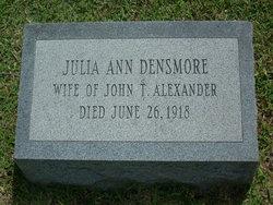 Julia Ann <i>Densmore</i> Alexander