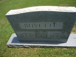 Mamie Estelle <i>Andrews</i> Boyette