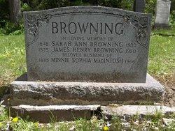Minnie Sophia <i>MacIntosh</i> Browning