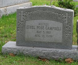Ethel May <i>Pose</i> Campbell
