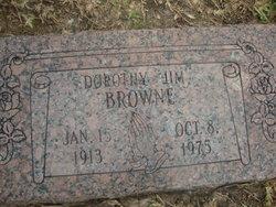 Dorothy Jim <i>Caviness</i> Browne-Amos