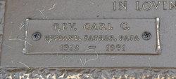 Rev Carl C Anderson