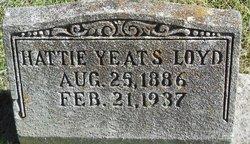 Hattie <i>Yeats</i> Loyd