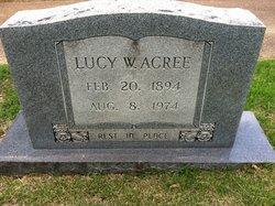 Lucy W. Acree