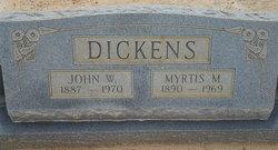Myrtis M Dickens