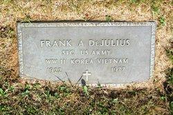 Sgt Frank A DeJulius