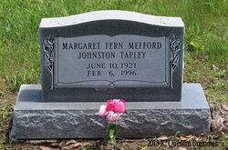 Margaret Fern <i>Mefford</i> Tapley