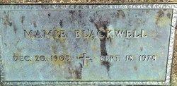 Mamie <i>Warner</i> Blackwell
