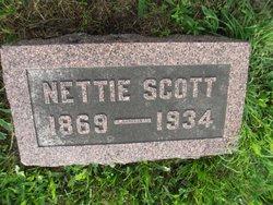 Rosa Henrietta Nettie <i>Redford</i> Scott