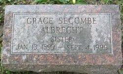 Grace M. <i>Secombe</i> Albrecht