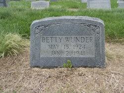 Betty Wunder