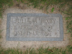 Julia A. Bixby