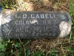 Col Lawrence DuVal Cabell