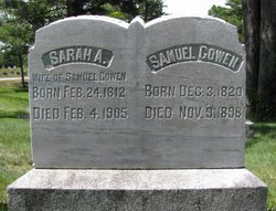 Sarah Ann <i>Smith</i> Gowen