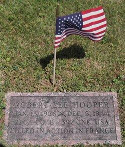 PFC Robert Lee Hooper