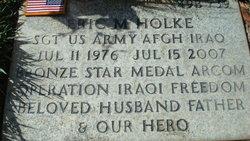Sgt Eric M Holke