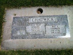 Zella Mary <i>Burrows</i> Chadwick
