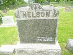 Lucy M <i>Ballard</i> Nelson