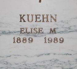 Elise M <i>Hensel</i> Kuehn